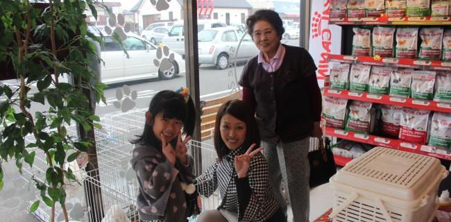 笑顔が素敵なご家族が遊びに来ました(^v^)