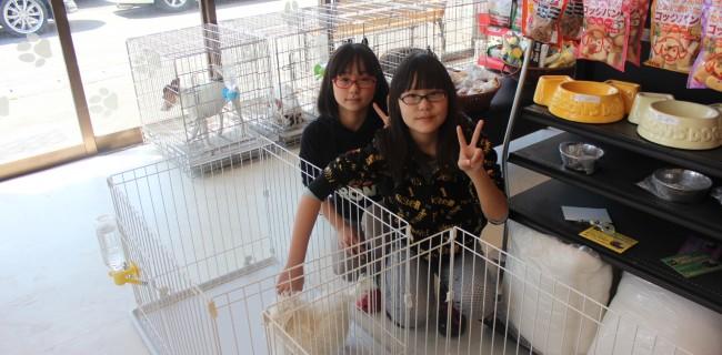 可愛い姉妹が遊びにきてくれましたぁ(*^_^*)