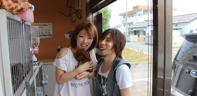 笑顔でいっぱいのお二人!(^^)!