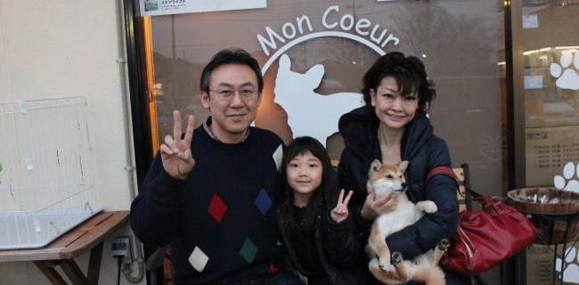 柴犬の女の子、新しいご家族が決まりましたぁ(*^_^*)
