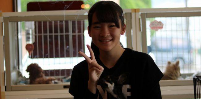 嬉しそうで、嬉しい!(*^-^*)